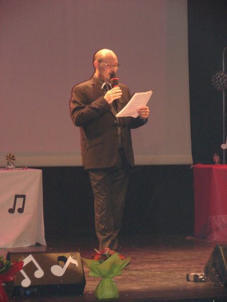 Le vice président du cdf+ Présentateur du Concours