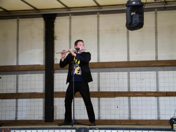 Olivier CHALOPIN, un flûtiste en herbe